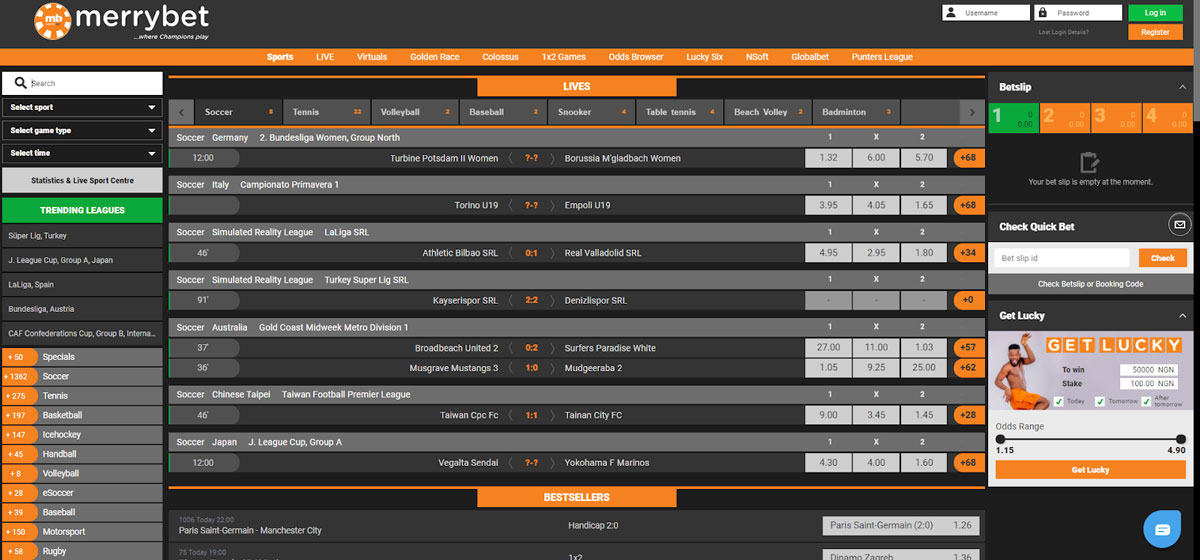 MerryBet Instant Payout